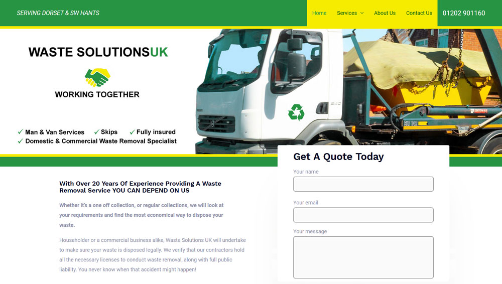 waste solutions uk